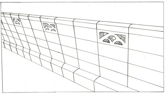 お隣との境界によく設置されるメッシュフェンス
