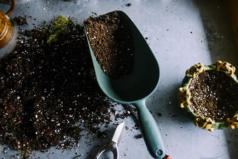ガーデニング用の土
